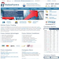 Roboforex al cambio de dia se bloquea el forex